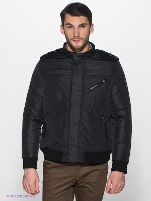 Куртка ALF SPORT. Цвет: черный