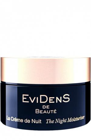 Ночной увлажняющий крем EviDenS de Beaute. Цвет: бесцветный