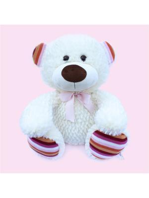 Мягкая игрушка Медведь Джек, Malvina. Цвет: молочный