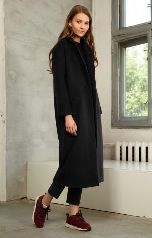 Пальто Черное Trends Brands Base