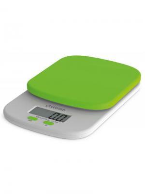 Весы кухонные Starwind SSK2155, зеленый. Цвет: зеленый