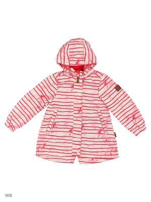 Куртка Reima. Цвет: бледно-розовый, красный