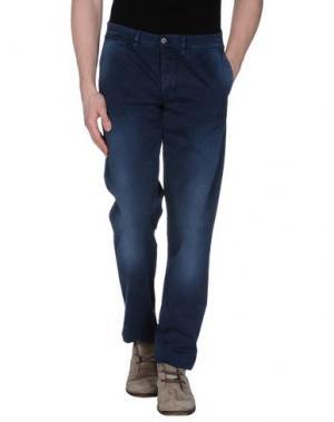 Повседневные брюки CELLAR DOOR. Цвет: синий