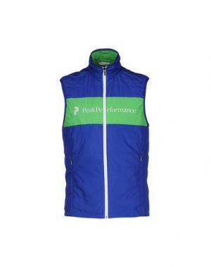 Куртка PEAK PERFORMANCE. Цвет: синий