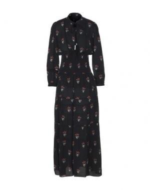 Длинное платье A.L.C.. Цвет: черный