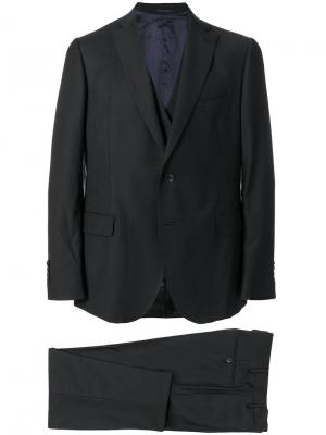 Деловой костюм Gabriele Pasini. Цвет: чёрный