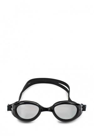 Очки для плавания TYR. Цвет: черный