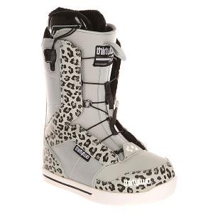 Ботинки для сноуборда женские  Z 86 Ft Grey Thirty Two. Цвет: черный,серый
