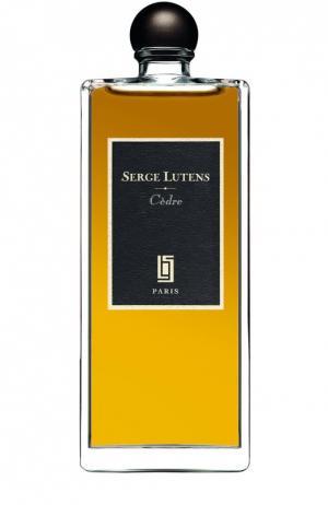 Парфюмерная вода Cedre Serge Lutens. Цвет: бесцветный