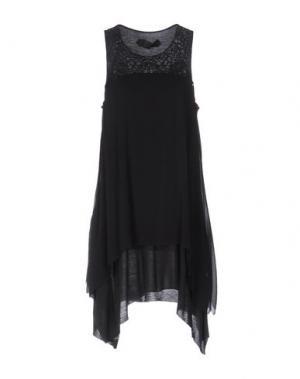 Короткое платье NICOLAS & MARK. Цвет: стальной серый