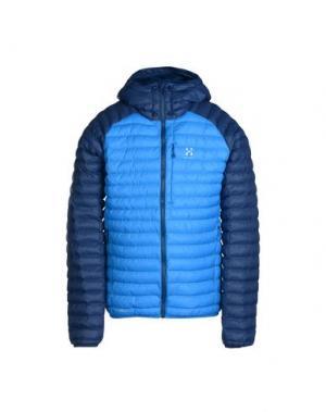 Куртка HAGLÖFS. Цвет: синий