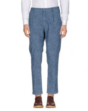 Повседневные брюки MAISON CLOCHARD. Цвет: синий