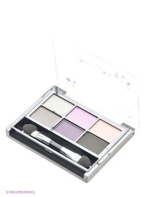Тени для век All for eyes, тон 465 Victoria Shu. Цвет: черный, бежевый, серый, сиреневый, фиолетовый