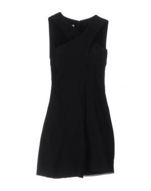 Короткое платье DONDUP. Цвет: черный