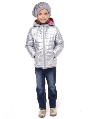 Куртка Luce della Vita. Цвет: серебристый