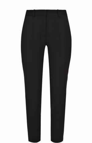 Однотонные шерстяные брюки с карманами Stella McCartney. Цвет: черный