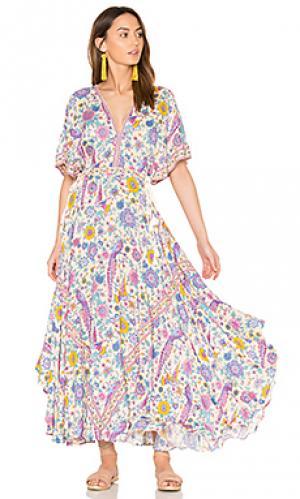 Вечернее платье half moon Spell & The Gypsy Collective. Цвет: фиолетовый