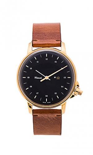 Часы m12 Miansai. Цвет: коричневый