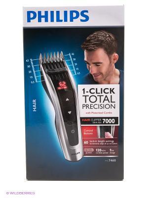 Машинка для стрижки волос Philips серии 7000 HC7460/15. Цвет: черный