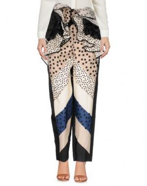 Повседневные брюки DELPOZO. Цвет: бежевый