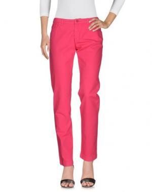 Джинсовые брюки 19.70 NINETEEN SEVENTY. Цвет: фуксия