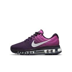 Беговые кроссовки для школьников  Air Max 2017 Nike. Цвет: пурпурный