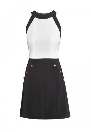 Платье Arefeva. Цвет: черно-белый
