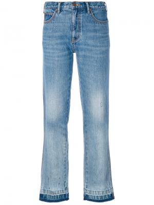 Джинсы прямого кроя Marc Jacobs. Цвет: синий