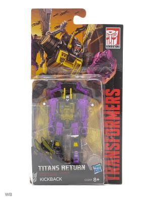 Трансформеры ДЖЕНЕРЭЙШНС: Войны Титанов Лэджендс Transformers. Цвет: черный, желтый, темно-фиолетовый