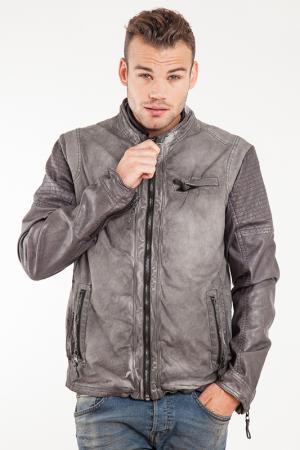 Куртка MAZE. Цвет: серый