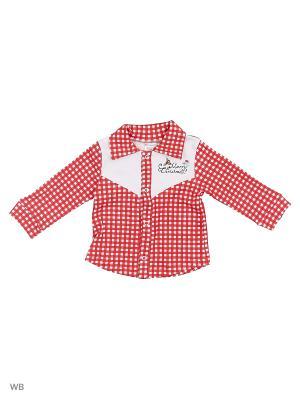 Рубашка Я Большой!. Цвет: красный