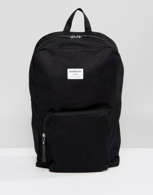 Sandqvist Черный рюкзак Kim. Цвет: черный