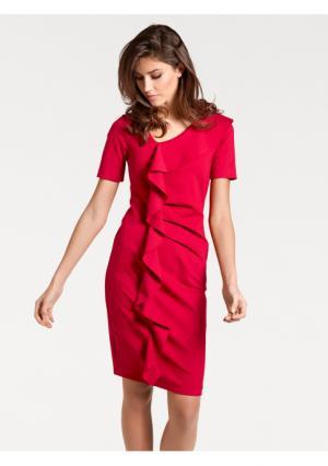 Моделирующее платье ASHLEY BROOKE by Heine. Цвет: темно-синий