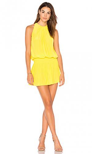 Платье paris RAMY BROOK. Цвет: желтый