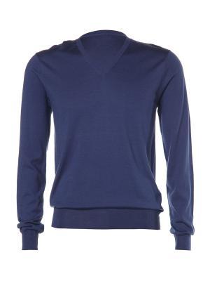 Пуловер Kangra. Цвет: синий