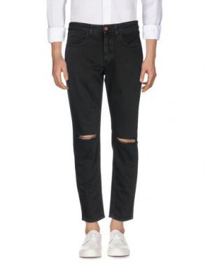 Джинсовые брюки DERRIÉRE. Цвет: черный