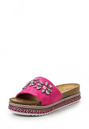 Сабо Sweet Shoes. Цвет: фуксия