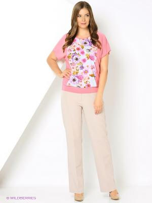 Блузка HI1. Цвет: розовый