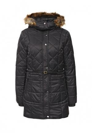 Куртка утепленная BlendShe. Цвет: черный