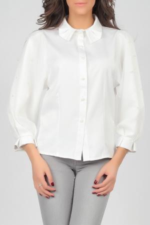 Блуза Isabel Queen. Цвет: белый
