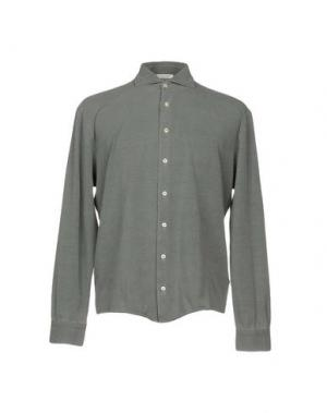Pубашка GRAN SASSO. Цвет: серый