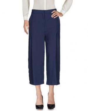 Повседневные брюки BETTY BLUE. Цвет: темно-синий