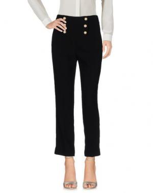 Повседневные брюки EDWARD ACHOUR. Цвет: черный