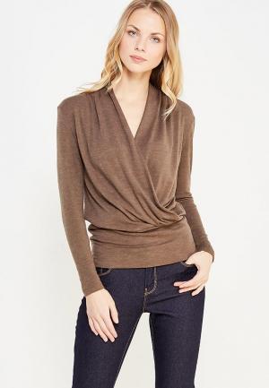 Пуловер Арт-Деко. Цвет: коричневый