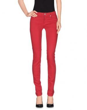 Повседневные брюки ROŸ ROGER'S. Цвет: кирпично-красный