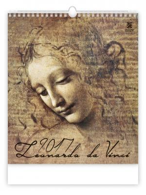 Календарь: Leonardo da Vinci (Леонардо Да Винчи) 8595230639202 ст.10 КОНТЭНТ. Цвет: белый