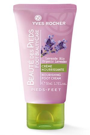 Питательный крем для ног 50 мл Yves Rocher. Цвет: none