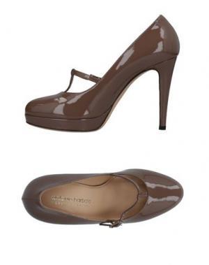 Туфли ANTONIO BARBATO. Цвет: светло-коричневый