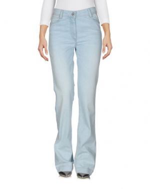 Джинсовые брюки DEVERNOIS. Цвет: синий