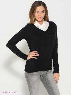 Пуловер ZARINA. Цвет: черный